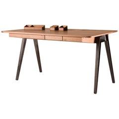 Orson Desk in Walnut by Matthew Hilton