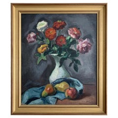 """Ortiz De Zarate Manuel """"Still Life with Flowers and Fruits"""""""