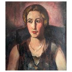"Ortiz De Zarate Manuel ""Portrait of a young girl"""