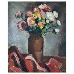 """Ortiz De Zarate Manuel """"Vase of flowers"""""""