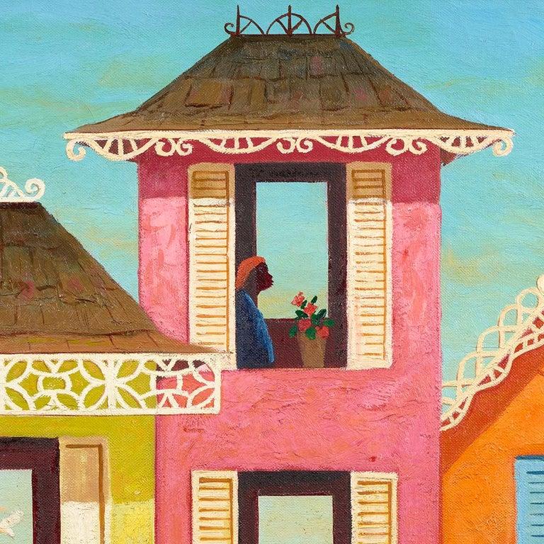 Juchoir - Modern Painting by Orville Bulman
