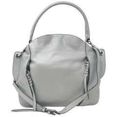 orYANY Danielle A26581706 Italian Leather Convertible Grey Ladies Shoulder Bag