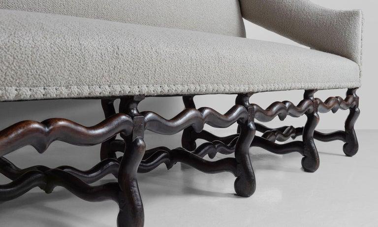 18th Century Os de Mouton Sofa For Sale