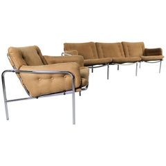 Osaka 3-Seat Sofa and Matching Lounge Chair by Martin Visser for Spectrum, 1960s
