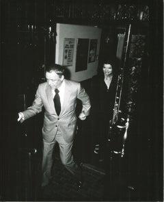 Jackie Kennedy & Frank Sinatra - Original Press Photo