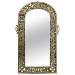 Oscar Bach Bronze Wall Mirror