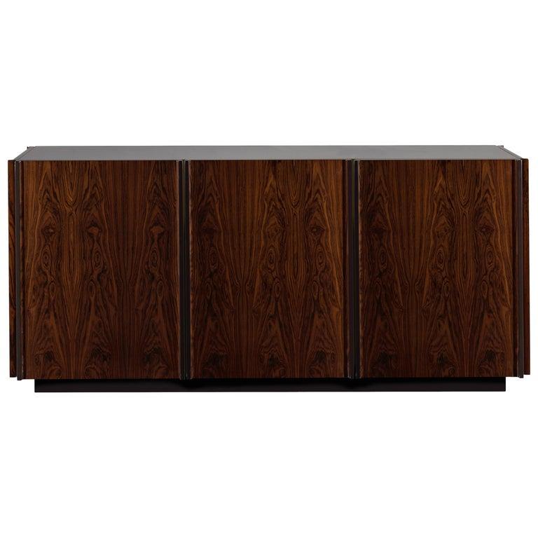 Oscar Credenza Brazilian Natural Wood Handmade Sophisticated Details 180 For Sale