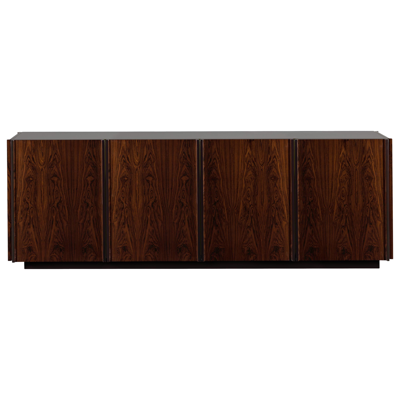 Oscar Credenza Natural Wood Handmade Sophisticated Details 240
