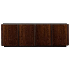 Oscar Credenza Natural Wood Handmade Sophisticated Details 240