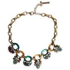 Oscar de la Renta Deco Necklace