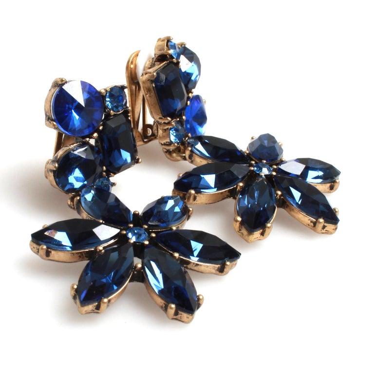 Oscar de la Renta Earrings In Excellent Condition For Sale In Melbourne, Victoria