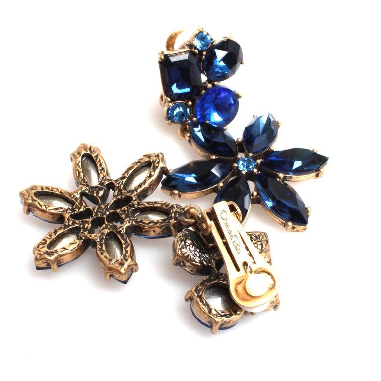 Women's Oscar de la Renta Earrings For Sale