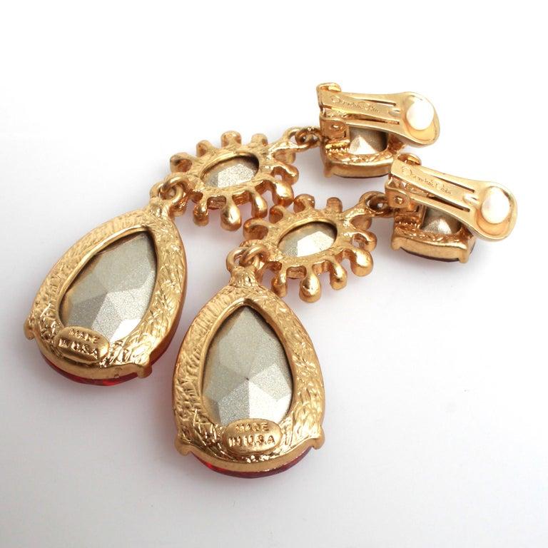 Oscar de la Renta Earrings 1