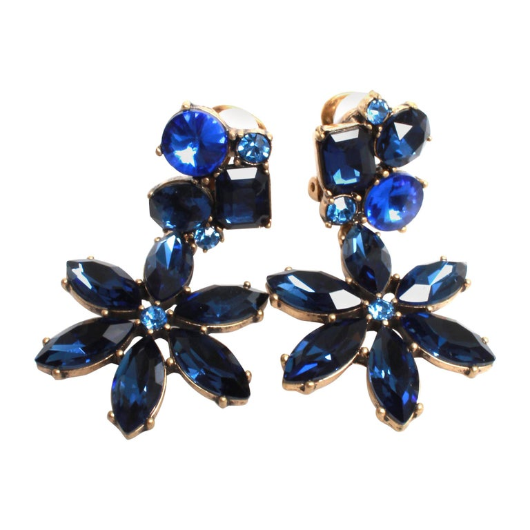 Oscar de la Renta Earrings For Sale