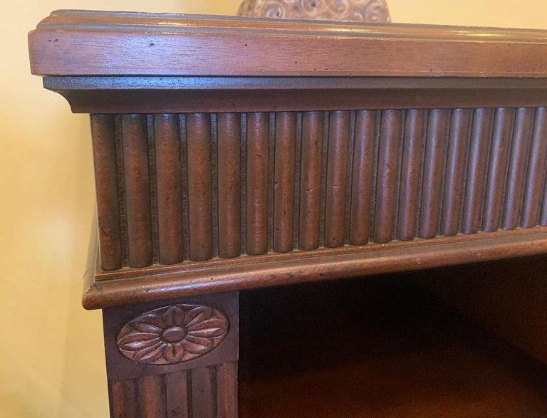 Oscar De La Renta for Century Furniture Mahogany Marble-Top Buffet Credenza For Sale 3