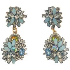 Oscar De La Renta Garden Party Earrings