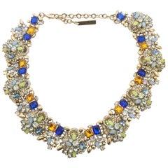 Oscar De La Renta Royal Party Necklace