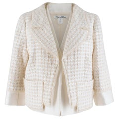 Oscar de la Renta Tweed Jacket UK 8