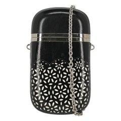 Oscar De La Renta Woman Shoulder bag  Black Leather