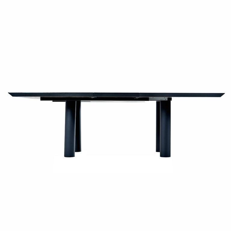 Oscar Dell Arredamento Italian Modern Burl Maple Dining Table by Miniforms For Sale 2