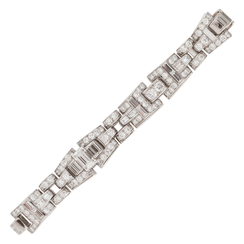 Oscar Heyman Bros. Platinum Diamond Bracelet