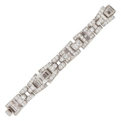 Oscar Heyman & Brothers Platinum Diamond Bracelet