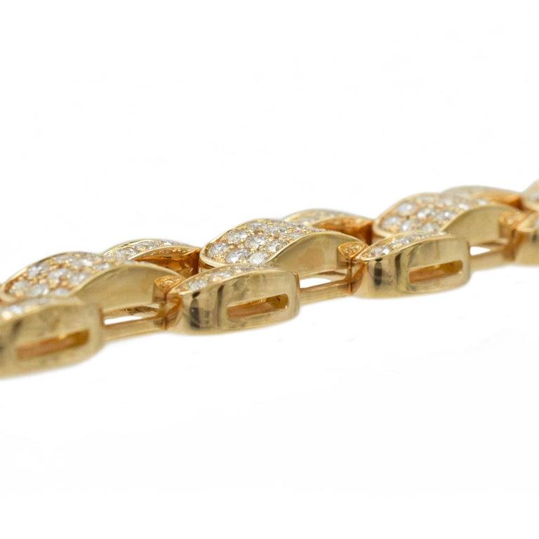 Oscar Heyman Diamond Bracelet in 18k Rose Gold For Sale 1