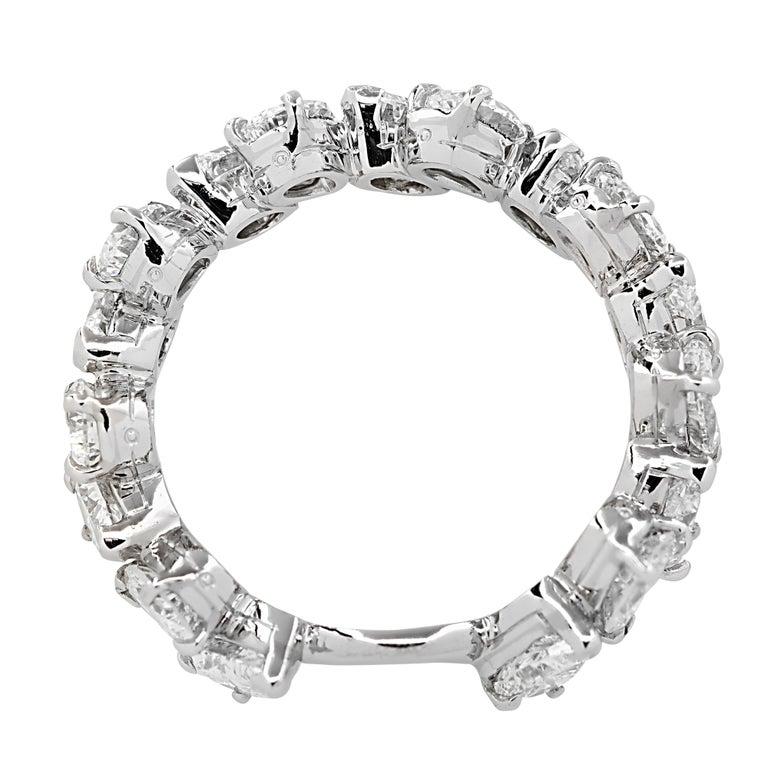 Oscar Heyman GIA Certified 8.04 Carat Pear Shape Diamond Wedding Set In Good Condition For Sale In Miami, FL