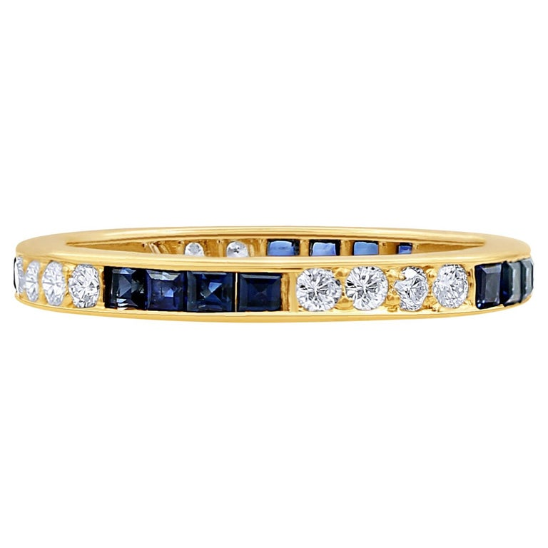 Gold, sapphire and diamond ring, 2019