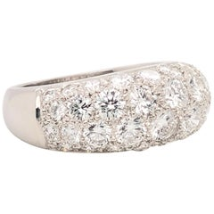 Oscar Heyman Platinum Diamond Dome Ring