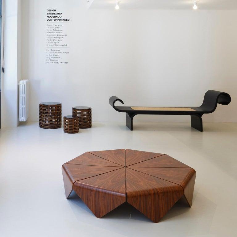 Woodwork Oscar Niemeyer Modern Bench