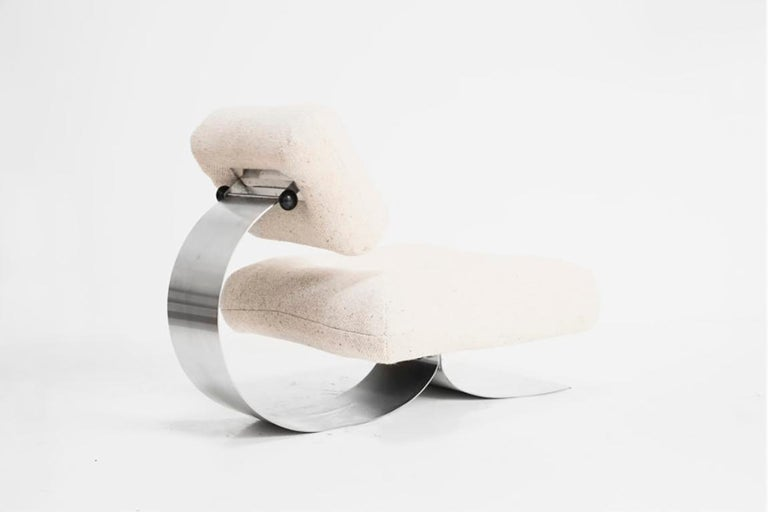 Late 20th Century Oscar Niemeyer, Single armchair