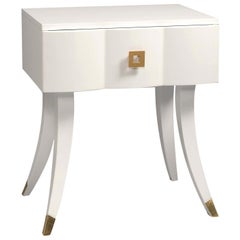 Oscar Nightstand White