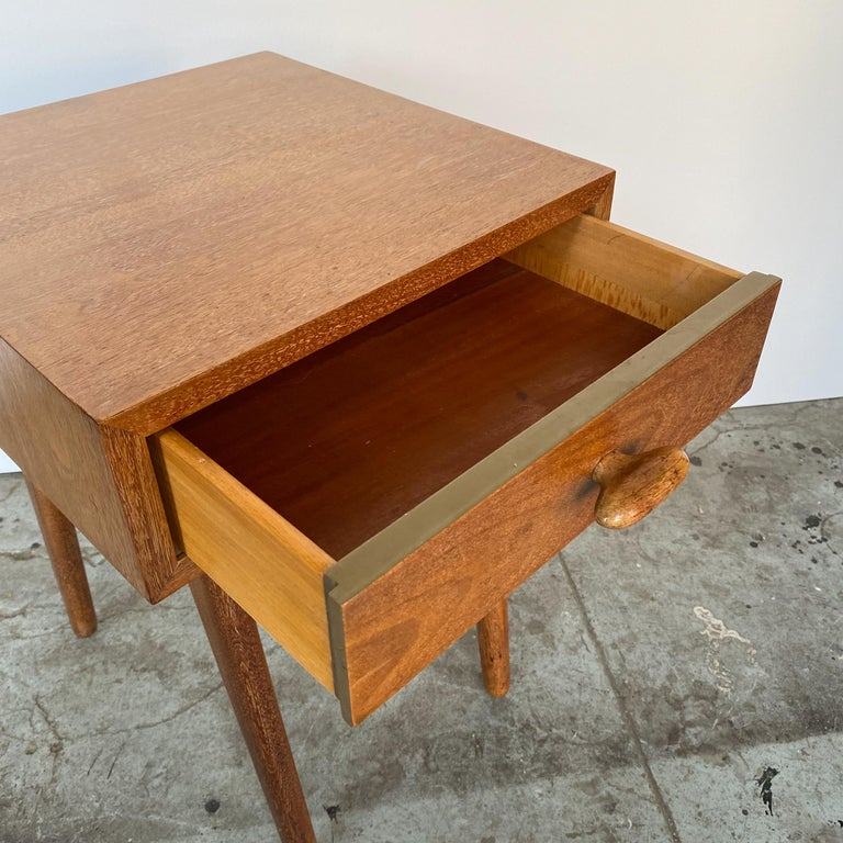 Oscar Stonorov and Willo von Moltke Organic Design Nightstand For Sale 5