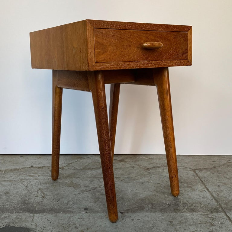 Organic Modern Oscar Stonorov and Willo von Moltke Organic Design Nightstand For Sale
