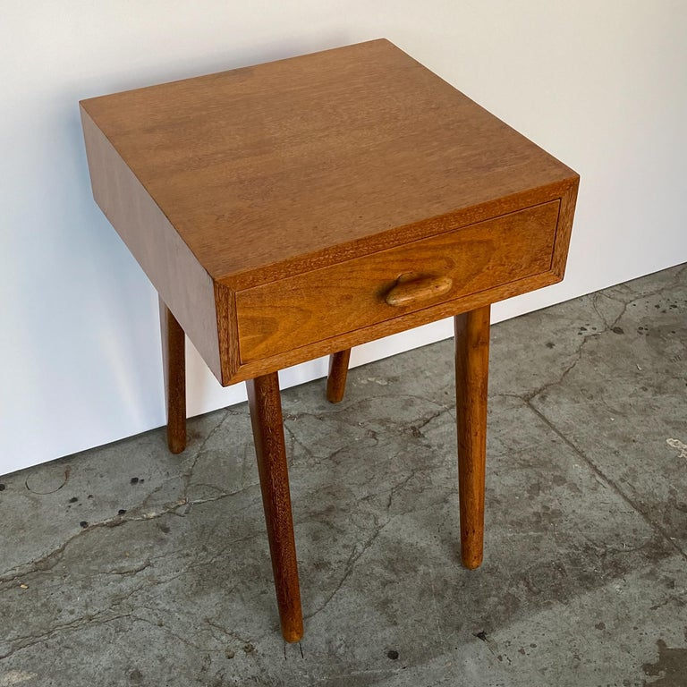 American Oscar Stonorov and Willo von Moltke Organic Design Nightstand For Sale