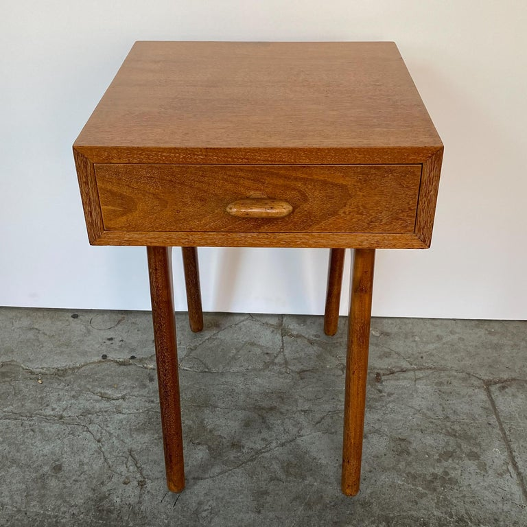 Mid-20th Century Oscar Stonorov and Willo von Moltke Organic Design Nightstand For Sale