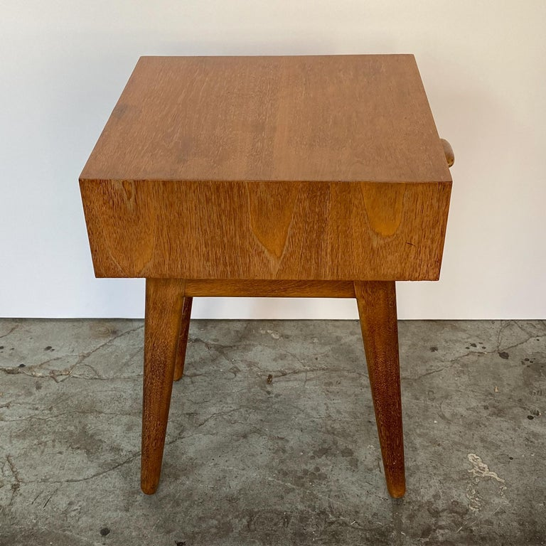 Oscar Stonorov and Willo von Moltke Organic Design Nightstand For Sale 1