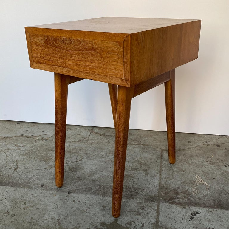 Oscar Stonorov and Willo von Moltke Organic Design Nightstand For Sale 2