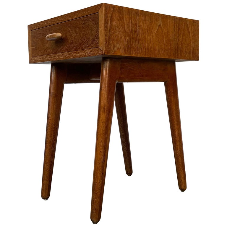 Oscar Stonorov and Willo von Moltke Organic Design Nightstand For Sale