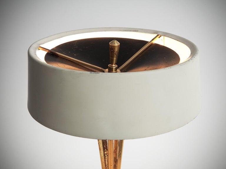 Mid-Century Modern Oscar Torlasco for Lumi Milano Swiveling Table Lamp For Sale
