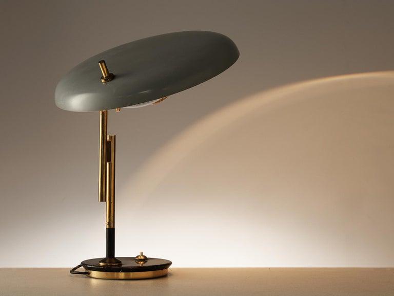 Mid-Century Modern Oscar Torlasco for Lumi Table Lamp Model '555'