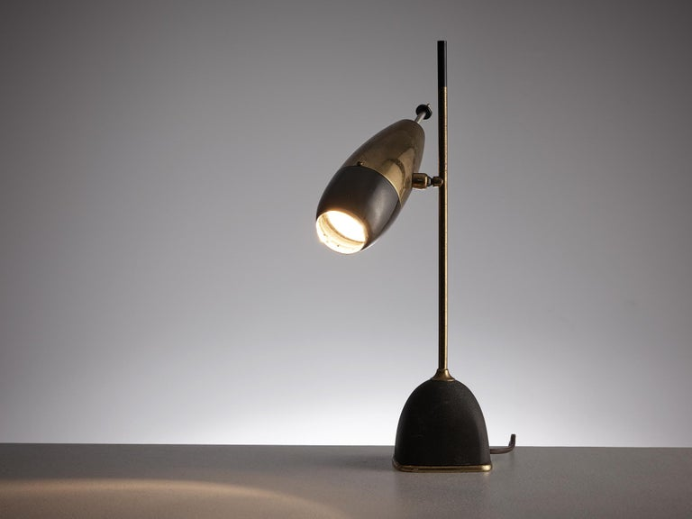 Mid-Century Modern Oscar Torlasco Table Lamp for Lumi