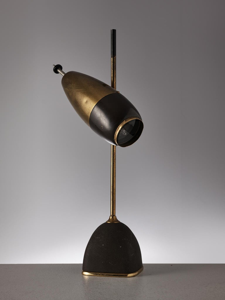 Metal Oscar Torlasco Table Lamp for Lumi