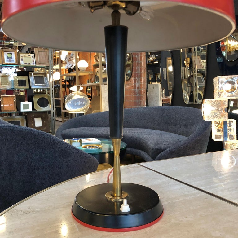 Oscar Torlasco Table Lamp, Italy, 1954 In Good Condition For Sale In Los Angeles, CA