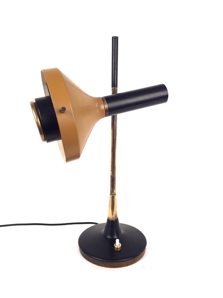 Oscar Torlasco Table Lamp, Model 553 for Lumi, 1950s In Good Condition For Sale In Madrid, ES