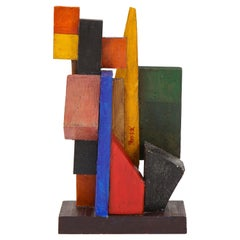 Oscar Troneck Abstract Sculpture, France, c. 1950's, Signed 'Troneck'
