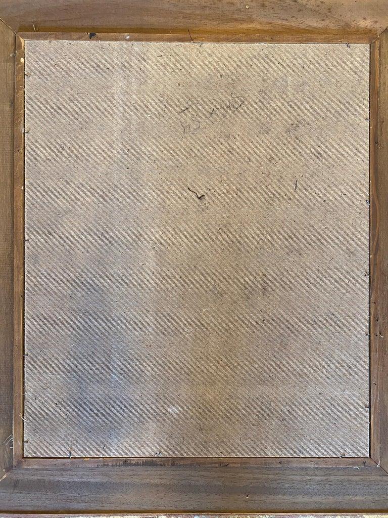 Oscar Troneck Constructivism Oil on Canvas For Sale 2