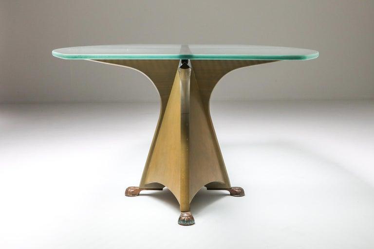 Spanish Oscar Tusquets 'Alada' Dining Table For Sale