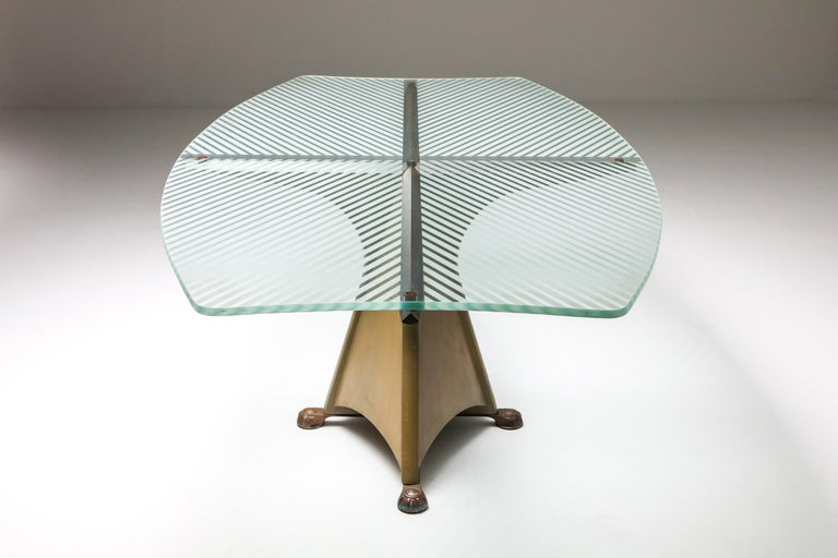 Oscar Tusquets 'Alada' Dining Table In Excellent Condition For Sale In Antwerp, BE